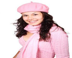bufandas rosa